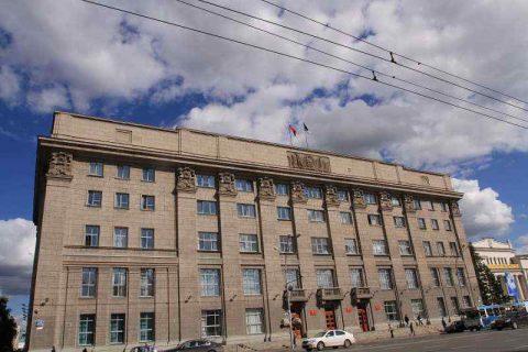 Силовики изъяли документы из мэрии Новосибирска