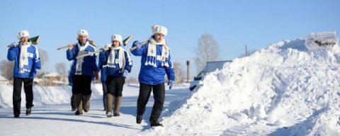 В Новосибирске подвели итоги акции «Снежный десант»