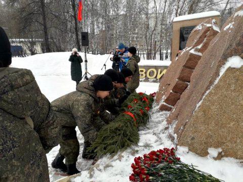 В Бердске отмечают День защитника Отечества