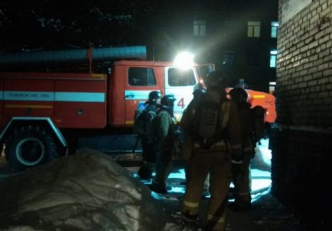 Пожар в Купино: погибли трое мужчин