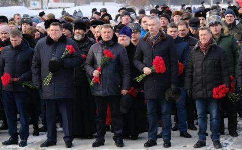 Новосибирцы возложили цветы в память о воинах-интернационалистах