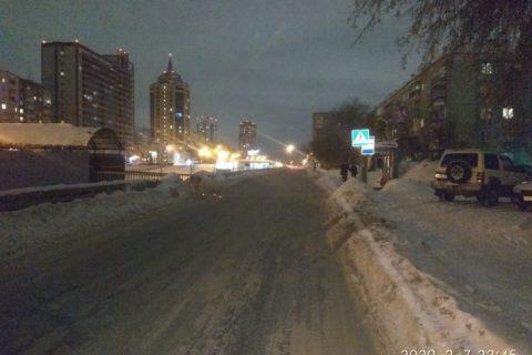 В Новосибирске водитель «Тойоты» сбил ребёнка