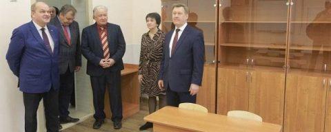 Кабинеты для младших классов открылись в новосибирской гимназии №1