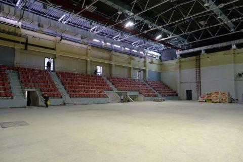 Губернатор Травников осмотрел новый волейбольный центр