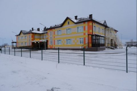 Детский сад подарили селу Маршанское в честь Масленицы