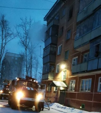 В Бердске мужчина погиб при пожаре