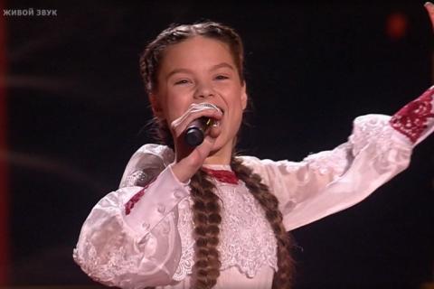 Барбаринская школьница очаровала жюри на «Голос. Дети»