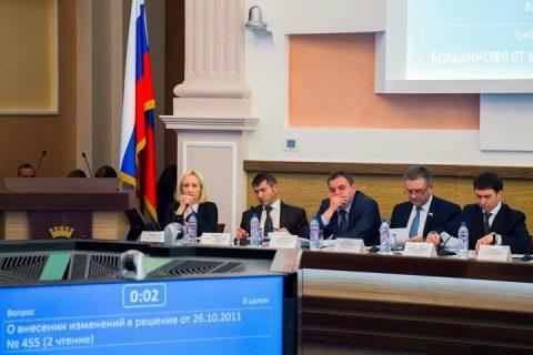Появилась новая карта избирательных округов Новосибирска