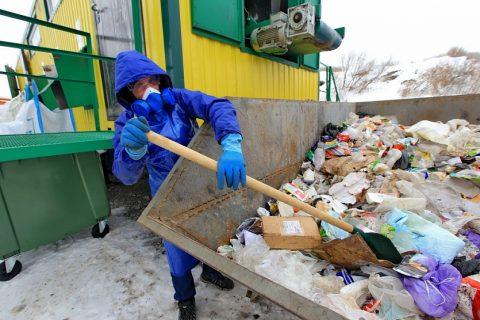 В Новосибирске на полигоне запустили две мусоросортировочные линии