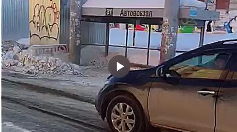 Водители и дороги возле автовокзала возмутили новосибирцев