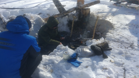 Пропавшего сибиряка нашли в «берлоге» в Новосибирской области