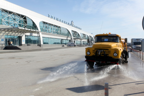 Раствором с хлоркой обработают улицы Новосибирска