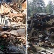 Житель Мочище ответит в суде за снесённый дом