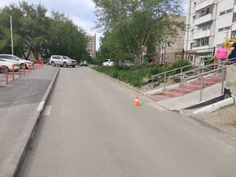 ДТП на Станиславском жилмассиве: иномарка сбила ребенка