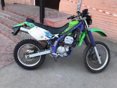 Новосибирские полицейские задержали похитителя мотоцикла