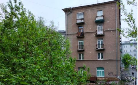 В Новосибирске неожиданно выпал снег