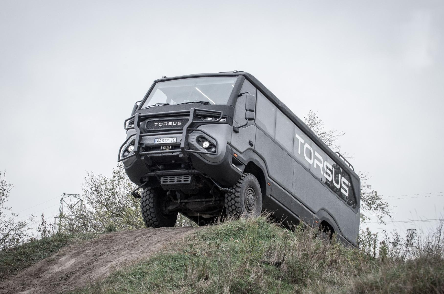 Украинский автобус Torsus Praetorian награжден за дизайн и инновации