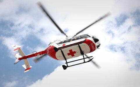Более ста пациентов в Новосибирской области эвакуировали на вертолетах
