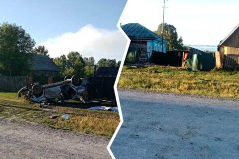 В страшном ДТП в Новосибирской области погибли две молодые девушки