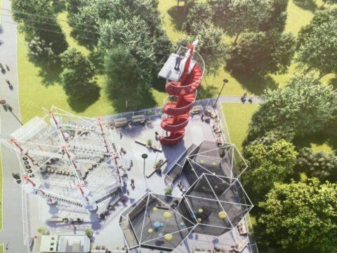 Десятиметровый аттракцион поставят в парке «Бугринская роща»