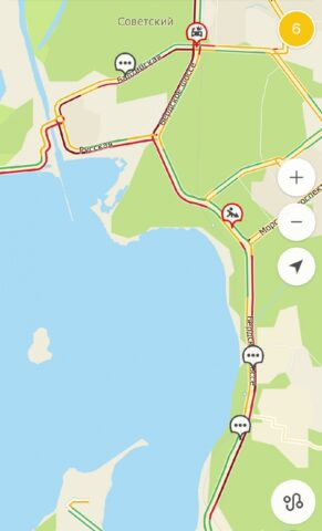 Бердское шоссе плотно стоит в пробке в сторону Обского моря