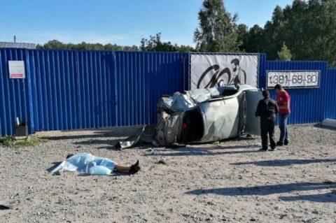 Четыре подростка разбились в ДТП возле поселка Кольцово