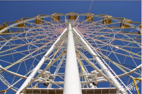 В Новосибирске продают колесо обозрения за 17 млн рублей