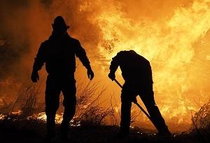 Пожар на мусорном полигоне в Новосибирске наконец-то ликвидировали