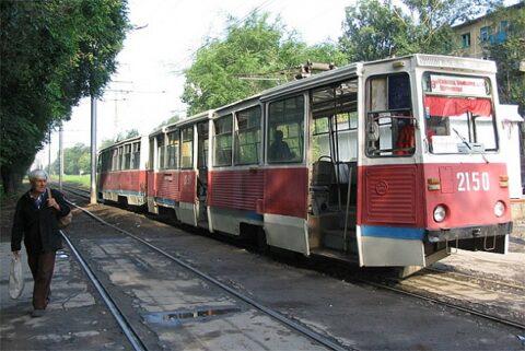 Трамвайный маршрут №9 закрыли в Новосибирске