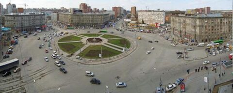 Памятную стелу в Новосибирске установят на площади Калинина