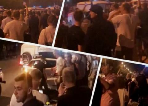 Жители Новосибирска устраивают танцы поздно ночью