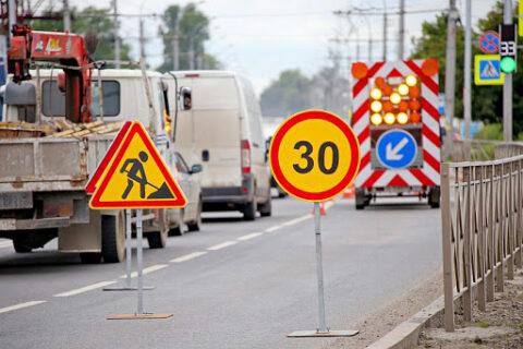 Совсем скоро откроется участок дороги на ул. Большой в Новосибирске