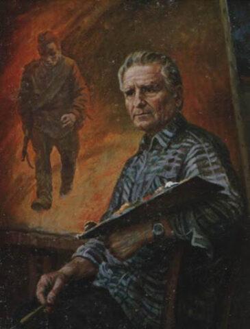 Новосибирский художник-баталист отметил 95-летие