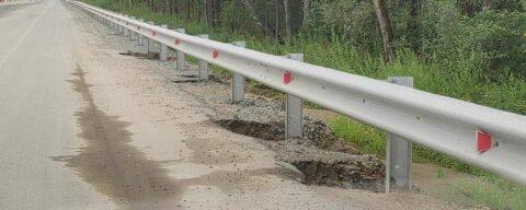 Некачественный ремонт Краснояровского шоссе возмутил новосибирцев