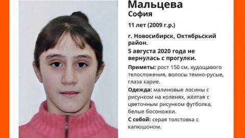 11-летнюю пропавшую девочку ищут в Новосибирске