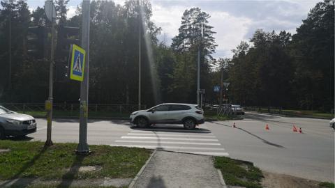 В Новосибирске пенсионерка сбила 10-летнюю велосипедистку