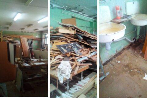 Губернатор Травников раскритиковал ремонт в новосибирской школе