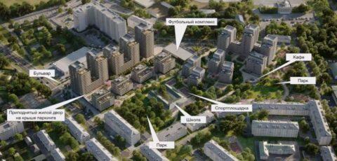 В Новосибирске появится современный квартал рядом с аэропортом