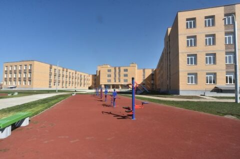 В Южном микрорайоне Бердска сдали школу на 1100 мест