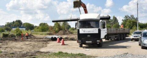 Новую дорогу строят в Новосибирске