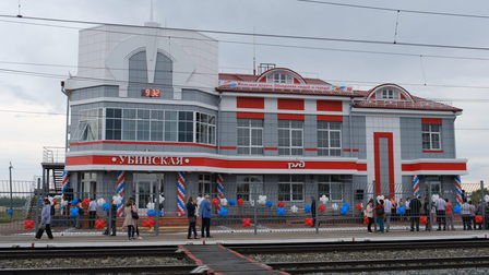 Новый вокзал открылся на Транссибе в Новосибирской области