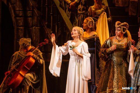 НОВАТ открыл сезон оперой «Иоланта»