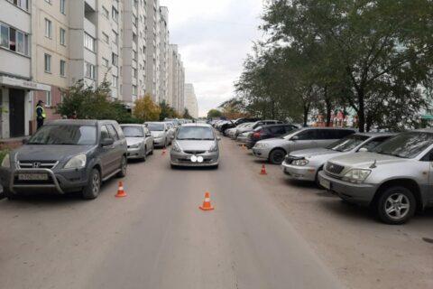 Honda Fit сбила 7-летнего мальчика в Новосибирске