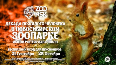 Пенсионеры могут бесплатно посетить Новосибирский зоопарк