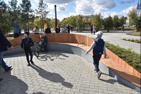 Затулинский дисперсный парк открылся в Новосибирске