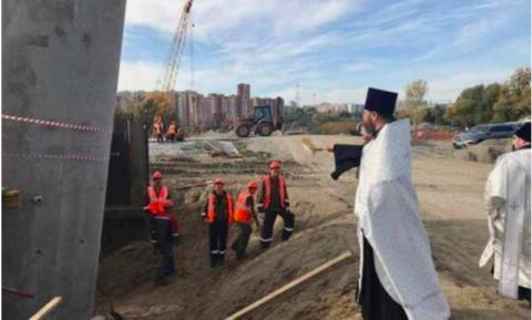 На строительство четвертого моста в Новосибирске призвали Святого Духа