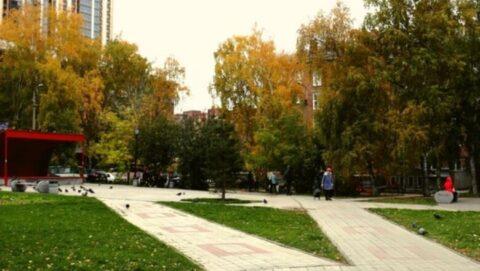 Название сквера «Лучистый» в Новосибирске хотят узаконить