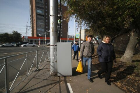 В Новосибирске назвали велодорожку «белой линией Локтя»