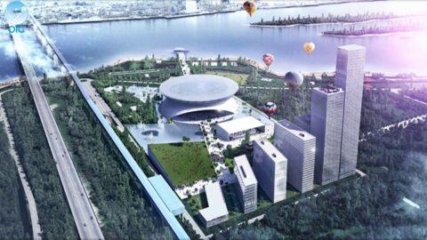 Ледовая арена в Новосибирске будет готова к 2022 году