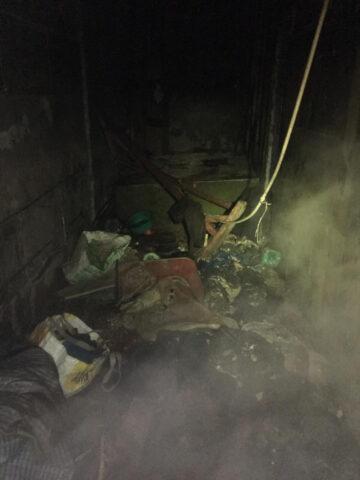 В пожаре на территории новосибирского завода погибли два человека